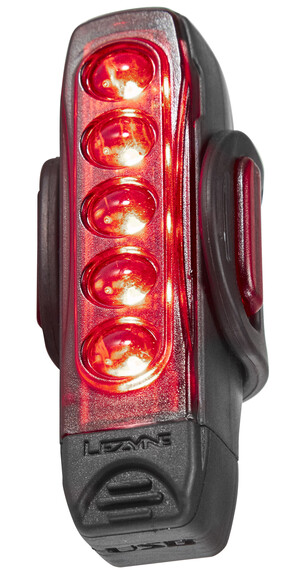 Lezyne Strip Drive Pro Baklampa röd/svart